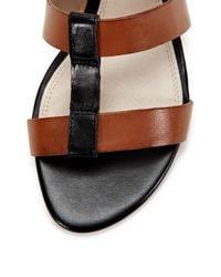 Wythe NY Black Lila T-strap Sandal