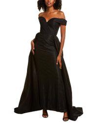 Mac Duggal Black Gown