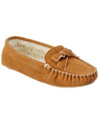 Patricia Green Brown Haley Suede Slipper