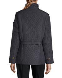 Barbour Blue Tourer Quilted Jacket