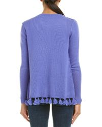Autumn Cashmere Blue Cardigan