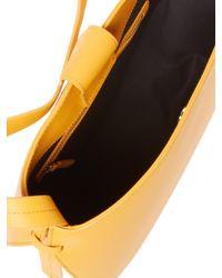 Steven Alan Yellow Helena Half Moon Shoulder Bag