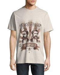 Robert Graham Multicolor Short-sleeve Cotton Tee for men