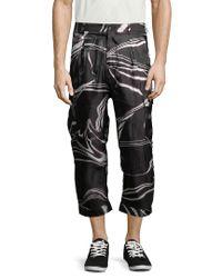 Y-3 Black Light Cargo Pant for men