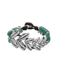 Uno De 50 Multicolor Unode50 Raices Plated Espiga Bracelet
