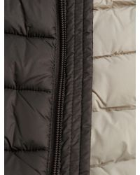Save The Duck - Brown Puffer Solid Vest for Men - Lyst