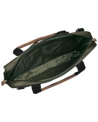 Buxton Green Expedition Ii Trekker Laptop Briefcase for men