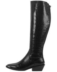 Sigerson Morrison Black Jaden Leather Boot