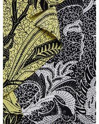 Diane von Furstenberg Black Ruffled Silk Romper