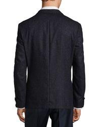 Vince Camuto Blue Fancy Long Sleeve Sportcoat for men