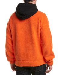 Sundek Orange Aron Hoodie for men