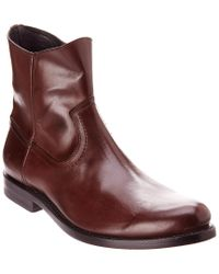 Frye - Brown Jet Leather Boot for Men - Lyst