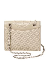 f20bddfae87b Tory Burch. Women s Fleming Medium Quilted Leather Shoulder Bag