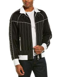 Valentino Black Piped Jacket for men