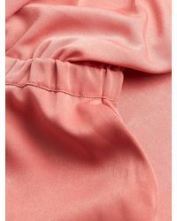 Plenty by Tracy Reese Pink One Shoulder Jumpsuit
