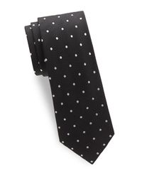 Tom Ford - Black Polka-dot Silk Tie for Men - Lyst
