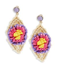 RED Valentino Multicolored Dangle & Drop Earrings