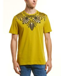 Versace Yellow Graphic T-shirt for men