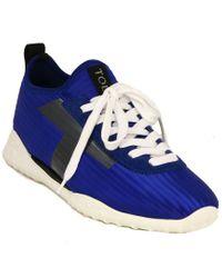 Tod's Blue Tod?s Sporty Sneaker