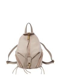 Rebecca Minkoff Natural Convertible Mini Julian Backpack