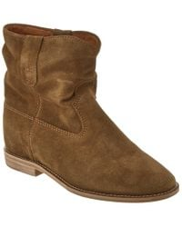Isabel Marant Brown Crisi Suede Boot