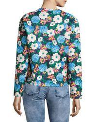Carven Blue Sweatshirt