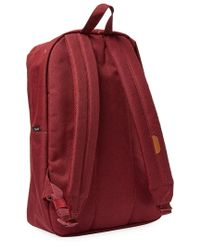 Herschel Supply Co. Red Supply Woven Backpack
