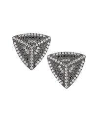 Dana Rebecca Metallic Designs Jennifer Ann 14k 0.38 Ct. Tw. Diamond Earrings