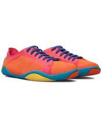 Camper Orange Noshu Sneakers