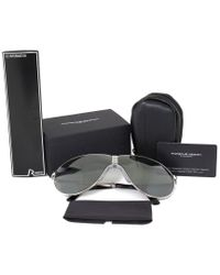 Porsche Design Multicolor Unisex P8480 B 66mm Folding Sunglasses