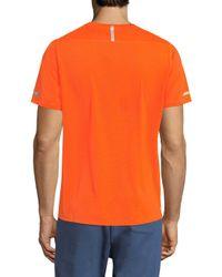 New Balance - Orange Ice Crewneck T-shirt for Men - Lyst