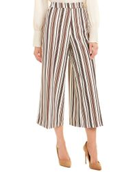 Insight Multicolor Cropped Palazzo Pant