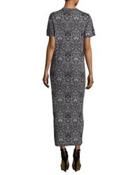 IRO Black Manatee Printed Maxi Dress