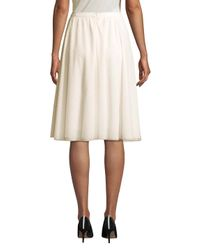 SJP by Sarah Jessica Parker White Ten Layer Skirt