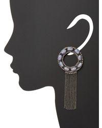 Deepa Gurnani - Multicolor Natura Statement Earrings - Lyst