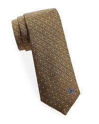 Versace - Multicolor Silk Dot Tie for Men - Lyst