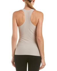 Spanx Gray ? Perforated Racerback Tank