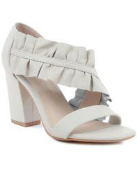 Seychelles White To Do List Block Heel Sandal