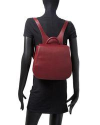 Steven Alan Red Kate Leather Backpack