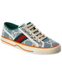 Gucci Blue Tennis 1977 Sneaker