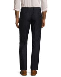 John Varvatos - Blue Astn Wool Space Flat Front Chino for Men - Lyst