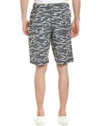 Surfside Supply - Blue Co. Palm Print Short for Men - Lyst