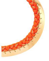 Aurelie Bidermann - Orange Copacabana Necklace - Lyst