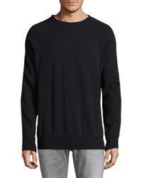 BLK DNM - Black 67 Raglan Zipper Sweatshirt for Men - Lyst