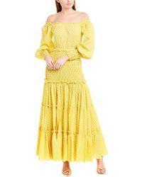 Alexis Yellow Maxi Dress