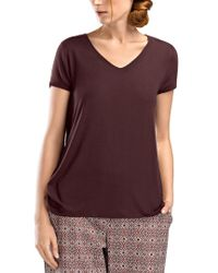 Hanro - Purple Ina Shirt - Lyst