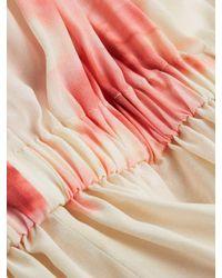 Sportmax Multicolor Moretto Floral Silk Blouse