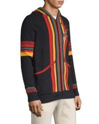 Deus Ex Machina Multicolor Striped Hoodie for men