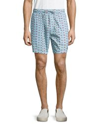 Barney Cools - Blue Sunday 17 Printed Swim Trunk for Men - Lyst