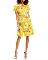 Piazza Sempione Yellow A-line Dress